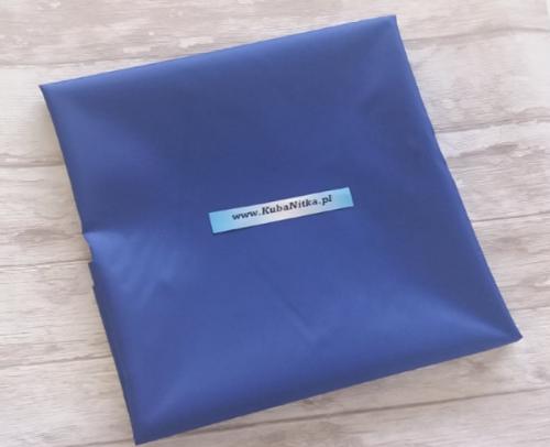 515d5ce6a9b93f Poliester wodoodporny, ortalion - niebieski KubaNitka